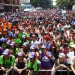 0  Una masiva participación tuvo la marcha juvenil