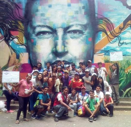 1 La militancia guariqueña llevó su alegría e ideales a Caracas