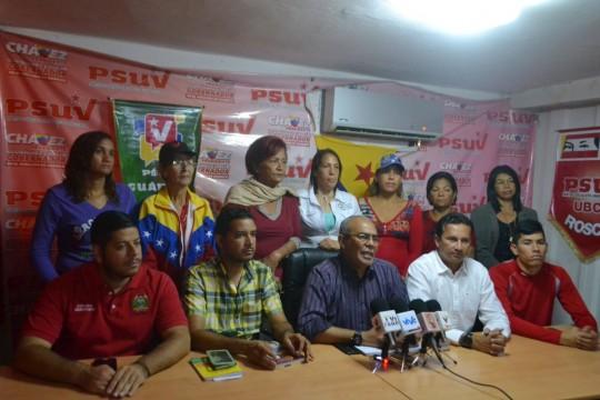 1Marín junto al equipo regional del PSUV ratificaron la legalidad del estado de derecho, enmarcado en dicha convocatoria