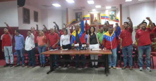 Diputados, legisladores y concejales integrantes del Bloque Indestructible de la Patria expresaron apoyo rotundo al presidente Nicolás Maduro