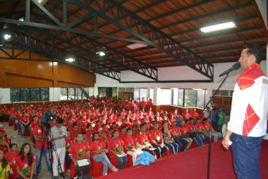 1 Encuentro con las estructuras regionales del Frente Francisco de Miranda con el objetivo de comenzar el despliegue en apoyo al candidato a la gobernación, José Vásquez