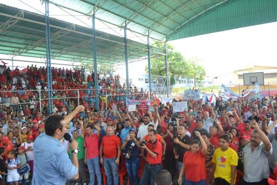 7.Dirigentes de vanguardia de la maquinaria 4X4 activada para garantizar la victoria perfecta y la consolidación de la Revolución.
