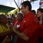 Adultos Mayores de Valle de la Pascua recibieron con amor y fervor a José Vásquez, en este primer encuentro