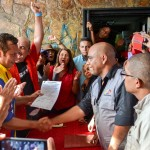 La formalización de la inscripción ante el Poder Electoral en Guárico