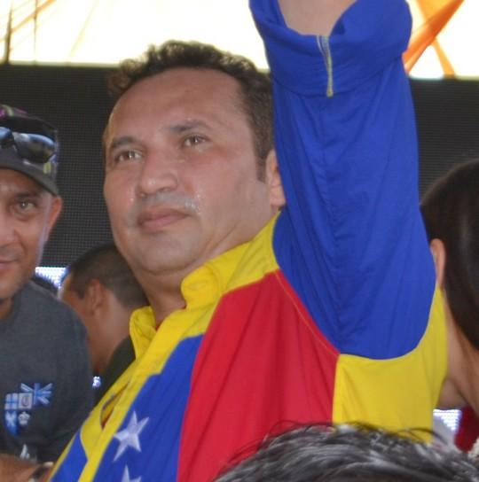 """1.""""Tenemos sangre de héroes y heroínas, sangre de Libertadores"""" expresó enfático el candidato de la Revolución Irreversible, José Vásquez"""