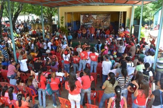 """1.""""Yo gobernaré obedeciendo al pueblo"""", ratificó en la parroquia San Rafael del municipio Monágas"""