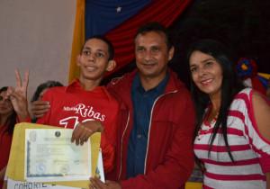 """Foto 3 José Vásquez  """"Debo agradecerle a la revolución en mi condición como funcionario publico por la creación de este sistem"""
